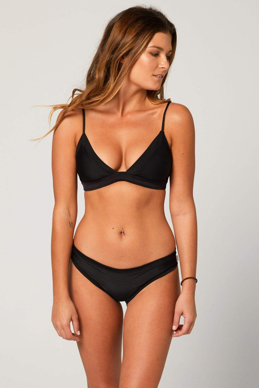 Aloe Swimwear Tops SPLIT TOP IN ODYSSEY