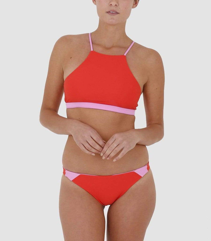 Aloe Swimwear Tops TURIMETTA TOP IN ORCHARD