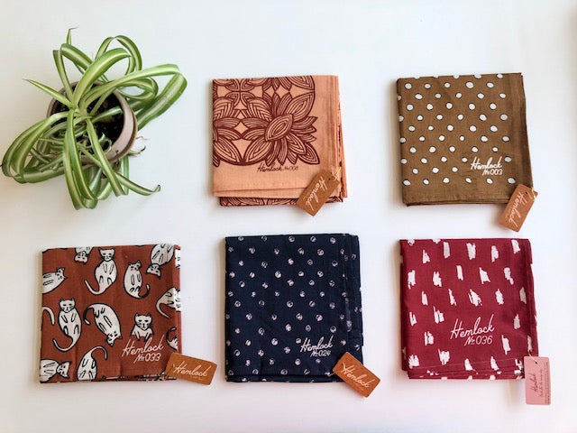 Now in the shop: Hemlock Goods bandanas