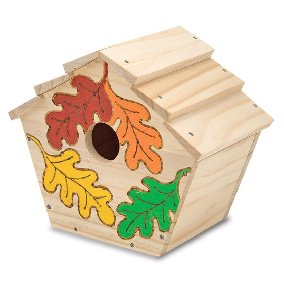 Birdhouse Wooden Craft Kit. Created by Me!