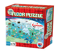 Map of Canada Floor Puzzle (48pcs)