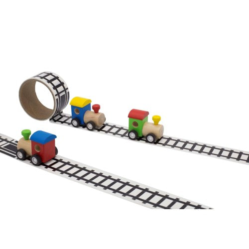 Railway Tape w/Train Set