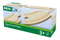 BRIO Short Curved Tracks for Railway