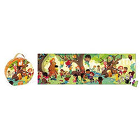 PANORAMIC PUZZLE FOREST 100 pcs
