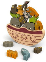 BALANCE BOAT - ENDANGERED ANIMALS GAME