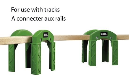 BRIO Stacking Bridge Piers for Railway