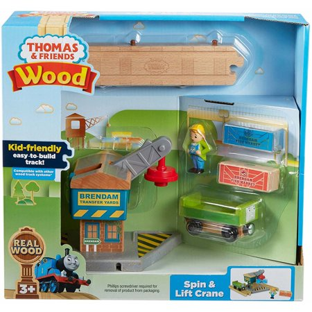 Thomas & Friends Wood - Spin & Lift Crane