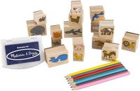 Animals Stamp Set Wooden