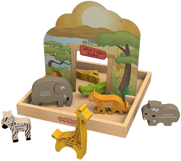Safari Story Playset Box