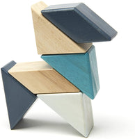 Tegu Magnetic 6-Piece Pocket Pouch Prism - Blues