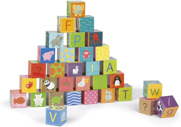 Kubkid 32 Blocks-Alphabet Floor Puzzles