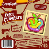 Color Crawlers wooden puzzle