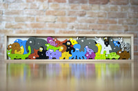 Animal Parade puzzle from A to Z