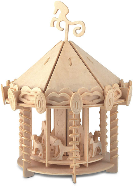Carousel 3D Wooden Puzzle