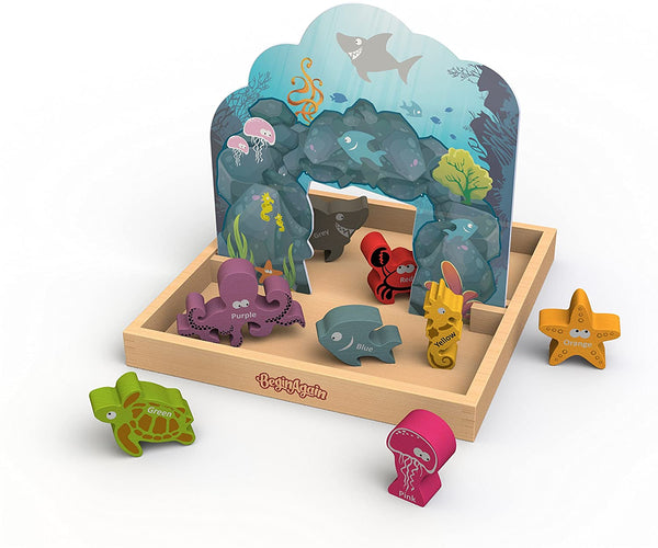 Colors Sea Playset Box