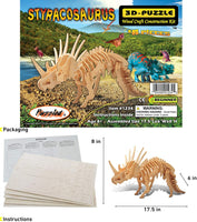 Styracosaurus 3D Wooden Puzzle