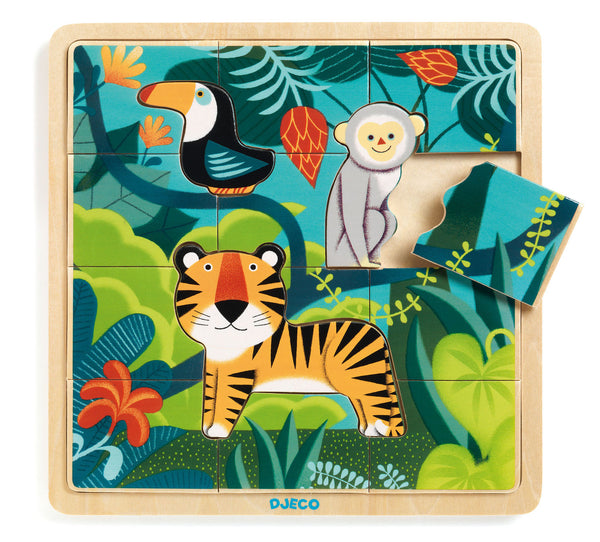 Jungle 15 pcs Puzzle