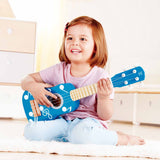 HAPE UKULELE ROCK STAR BLUE