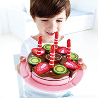 HAPE DOUBLE FLAVORED BIRTHDAY CAKE