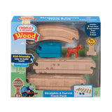 Thomas & Friends Wood Straights & Curves Track Pack