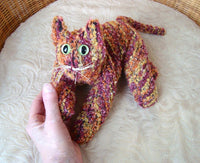 Orange Tabby Cat - Handmade in CANADA