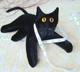 Black Velvet Cat - Handmade in CANADA