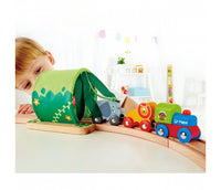 HAPE Jungle Train Journey Set Wooden Railway