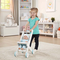 Play Pushchair  Stroller (Mine to Love) White