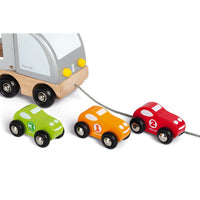 MULTI CARS TRUCK (WOOD)
