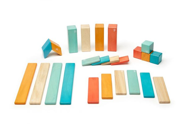 Tegu Magnetic 24-Piece Set - Sunset