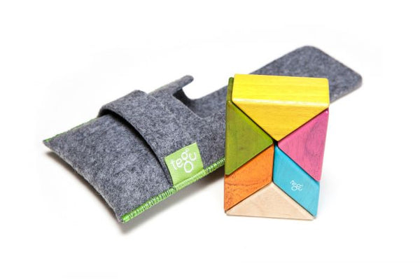 Tegu Magnetic 6-Piece Pocket Pouch Prism - Tints