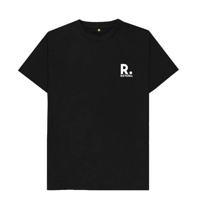 Black Ration.L Organic T-shirt Black