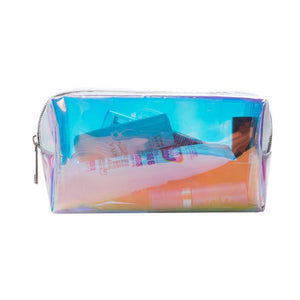 Laser Design Transparent Cosmetic Bag