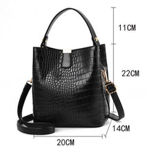 Load image into Gallery viewer, Crocodile Pattern Shoulder Bag