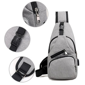 Casual Men Crossbody Bag