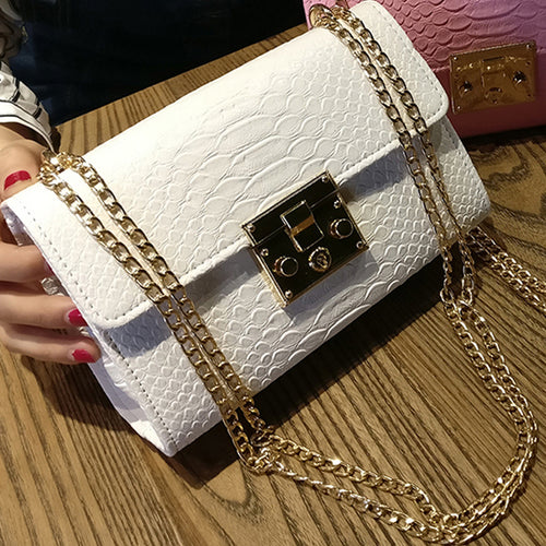 Ladies Chain Clutch  Bags