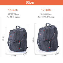 Load image into Gallery viewer, Multifunctional Laptop Backpack