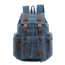 Load image into Gallery viewer, Vintage Canvas Backpack