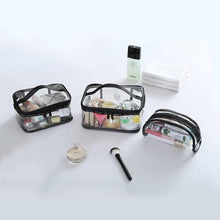 Load image into Gallery viewer, Waterproof Transparent PVC Cosmetic Bag
