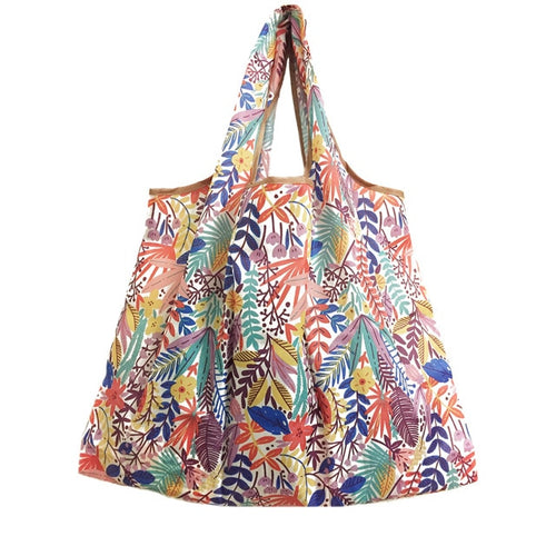 Lady Foldable Recycle Eco Tote Bag