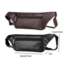 Load image into Gallery viewer, Casual Leather Waist Bag