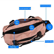 Load image into Gallery viewer, Nylon Gym Bag