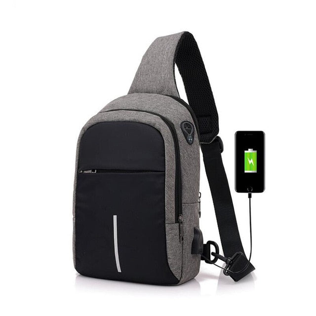 USB Charge One Crossbody Bag