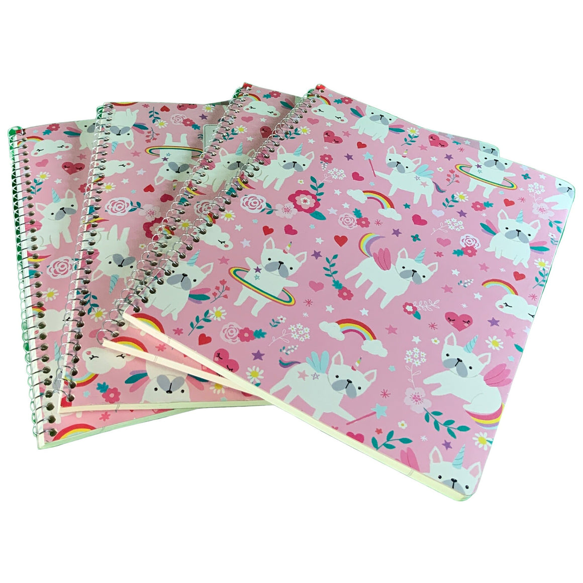 1 Subject Notebook - Dog Unicorn - Greenroom