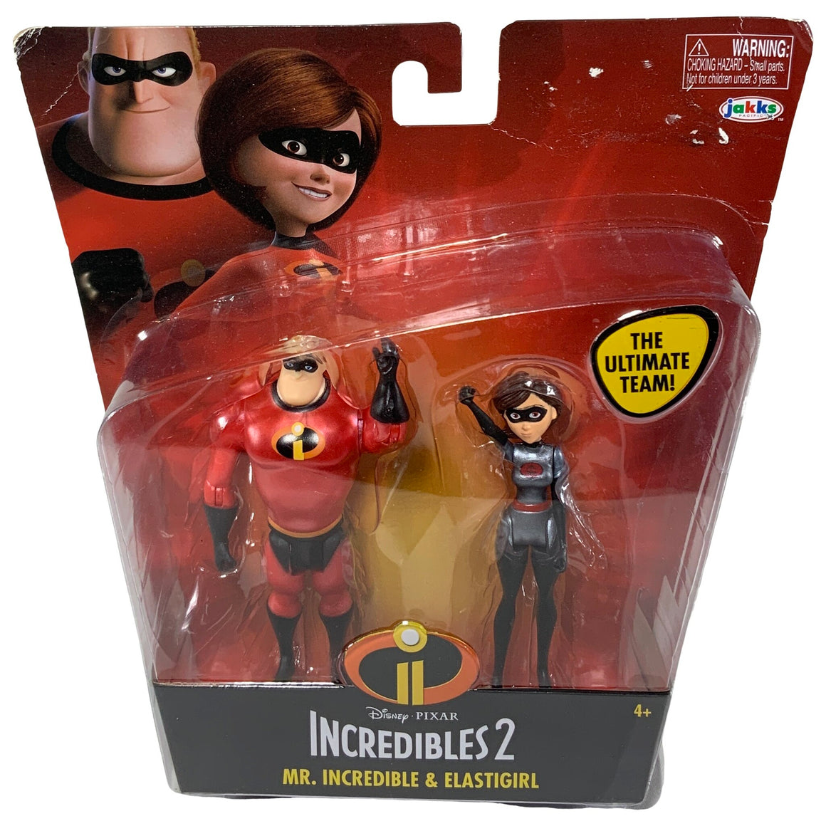 Jakks - Incredibles 2 Mr Incredible & Elastigirl