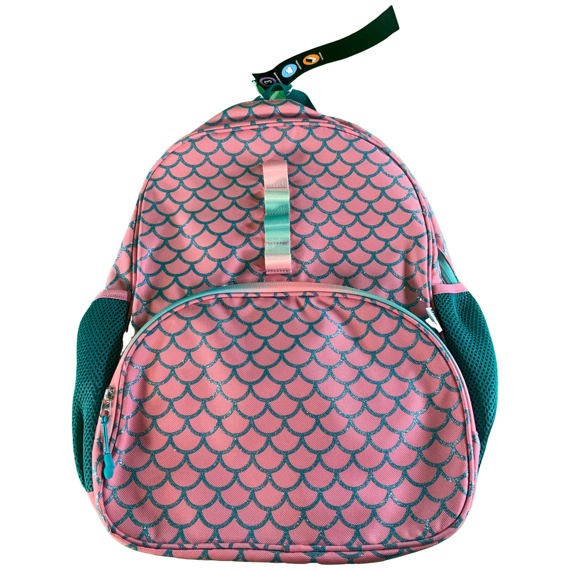 "16.25"" Kids' Backpack - Mermaid Scale - Crckt"
