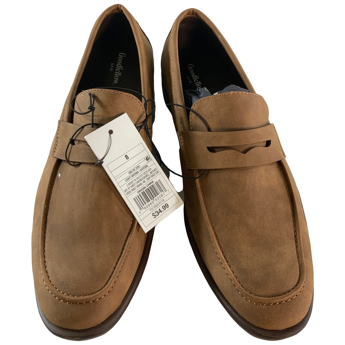 Men'S Kayden Loafers - Tan 8 - Goodfellow & Co