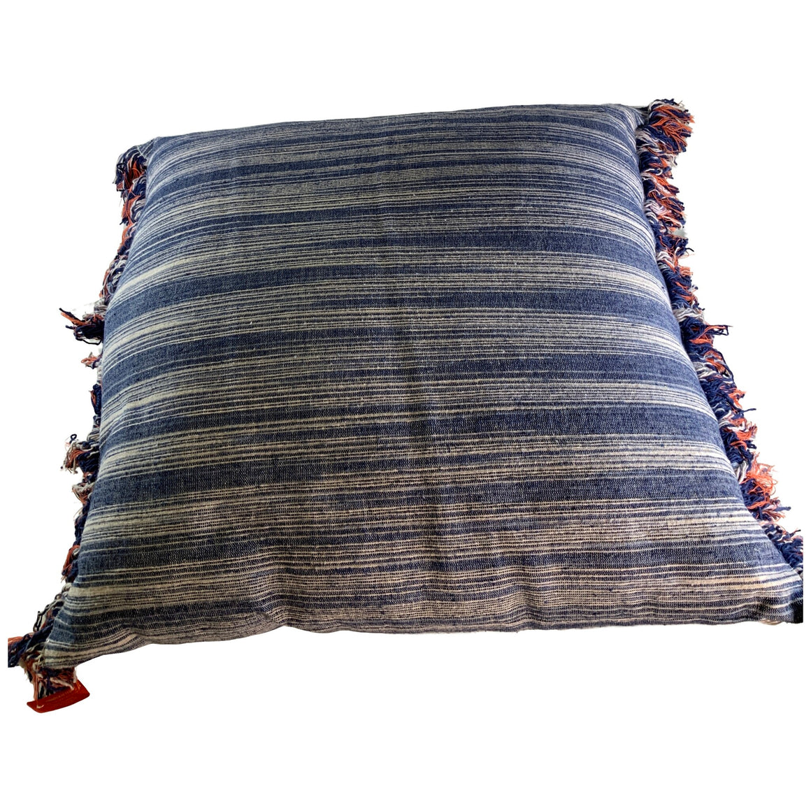 Euro Texture Stripe Decorative Throw Pillow Indigo - Opalhouse™
