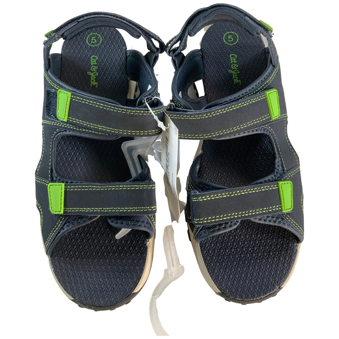 Boys' Konnor Hiking Sandals - Navy 5 - Cat & Jack™