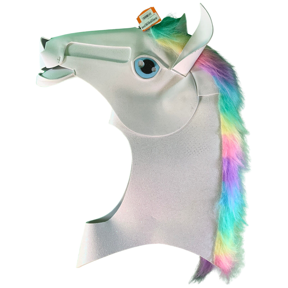 Adult Unicorn Mascot Head Halloween Costume Mask White - Hyde & Eek! Boutique™